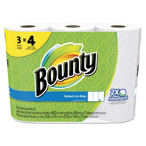 Bounty Select-a-Size Perforated Paper Towels