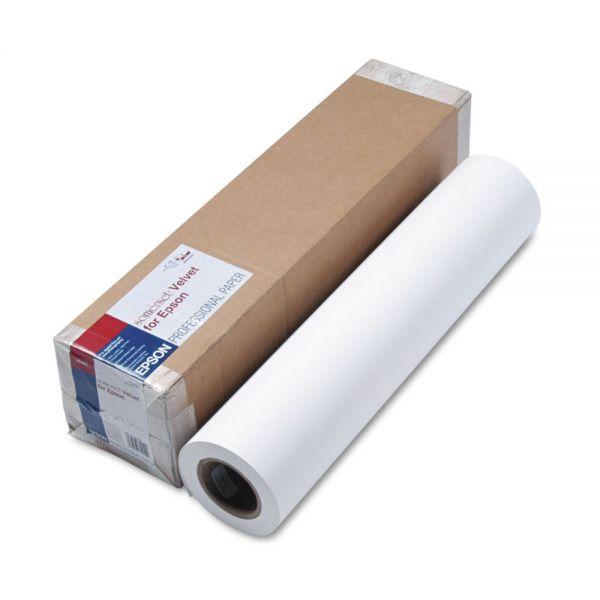 """Epson 24"""" Wide Format Somerset Velvet Paper"""