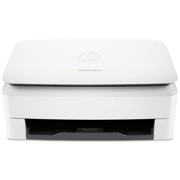 HP ScanJet Pro 3000 s3 Sheet-Feed Scanner, 600x600 dpi, 50-Sheet ADF