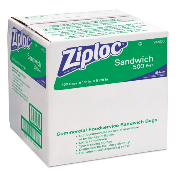 Ziploc Resealable Sandwich Bags