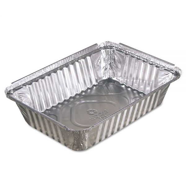 Pactiv Oblong Aluminum Food Pans