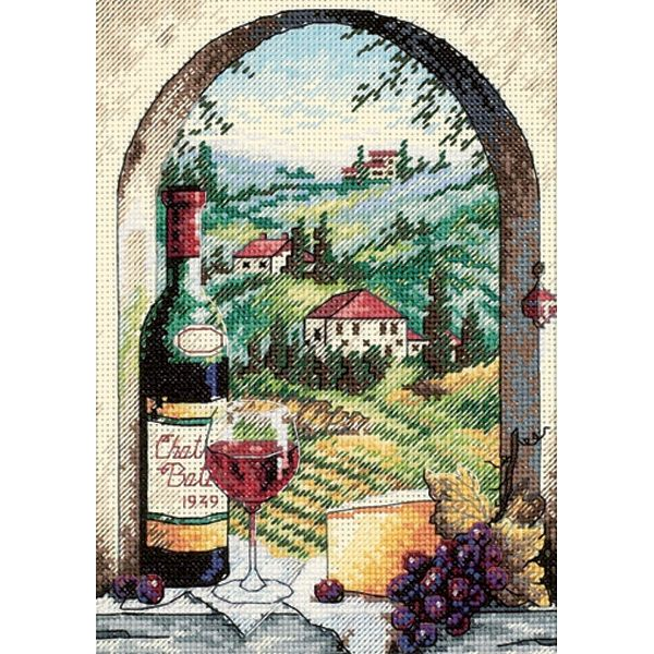 Dimensions Gold Petite Dreaming Of Tuscany Counted Cross Stitch Kit