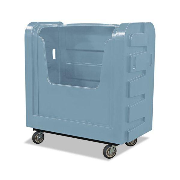 Royal Basket Trucks Bulk Transport Truck, 28 x 50 1/2 x 54 3/4, 800 lbs. Capacity, Gray
