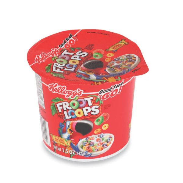 Kellogg's Froot Loops Cereal-In-A-Cup