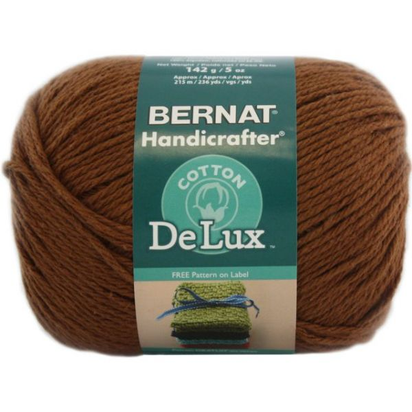 Bernat Handicrafter DeLux Cotton Yarn - Cloves