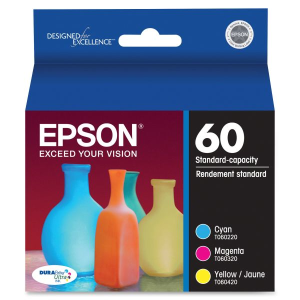 Epson T0605 Color Combo Pack Ink Cartridges