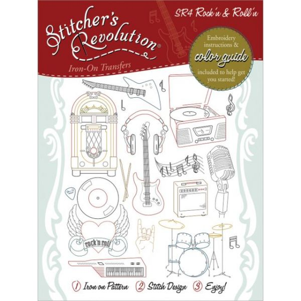 Stitcher's Revolution Iron-On Transfers