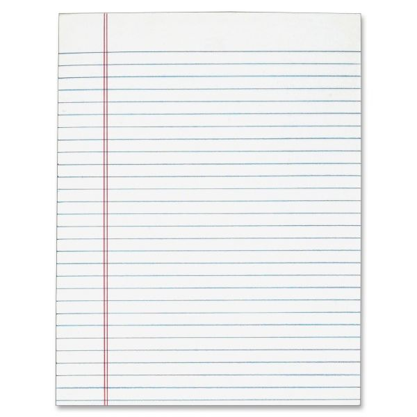 TOPS Letter-Size White Legal Pads