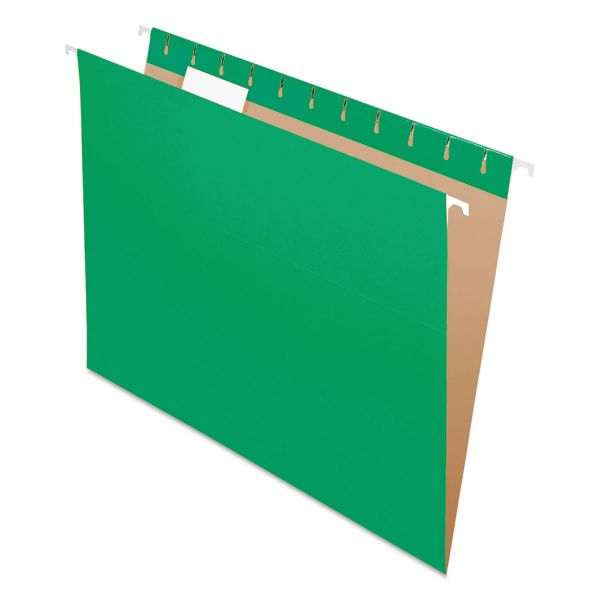 Pendaflex Essentials Color Hanging File Folders