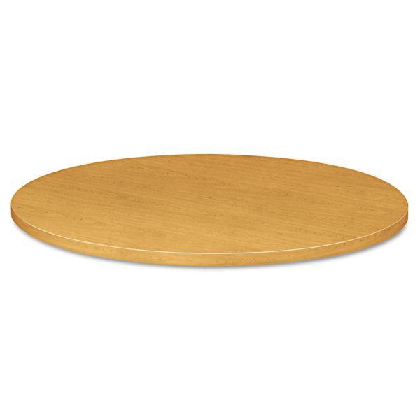 "HON 10500 Series Round Table Top, 42"" Diameter, Harvest"