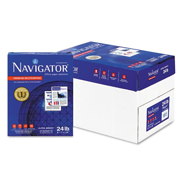 Navigator Premium Multi-Purpose White Copy Paper