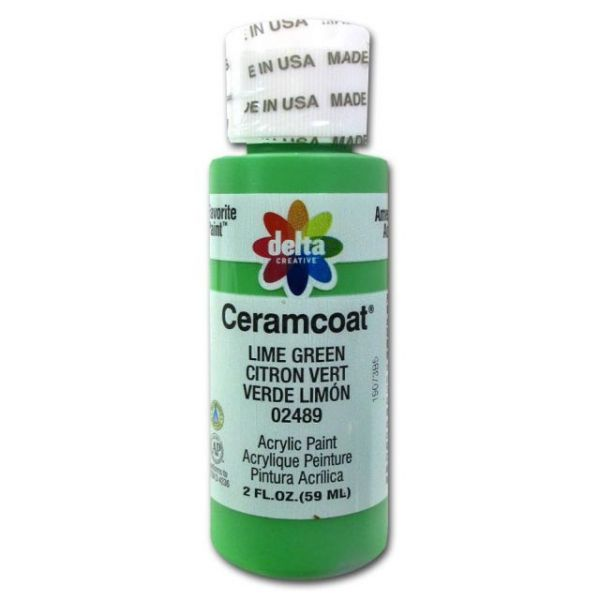 Ceramcoat Lime Green Acrylic Paint