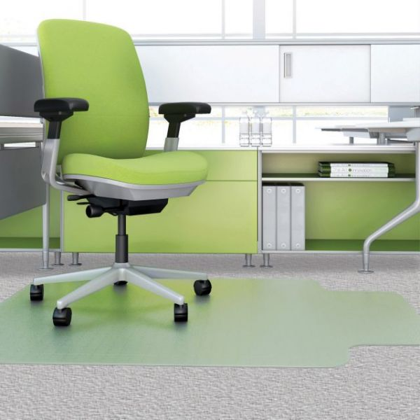 Deflect-o EnvironMat Recycled Low-Pile Chair Mat