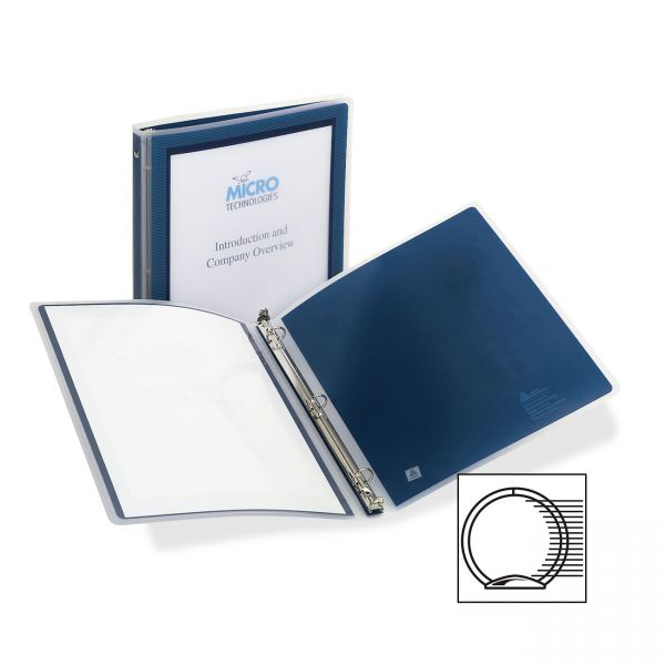 "Avery Flexi-View 1/2"" 3-Ring Presentation Binder"