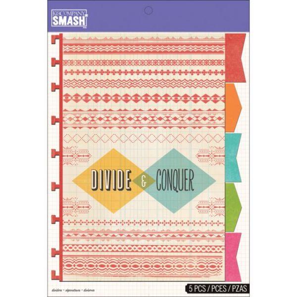SMASH Dividers 5/Pkg