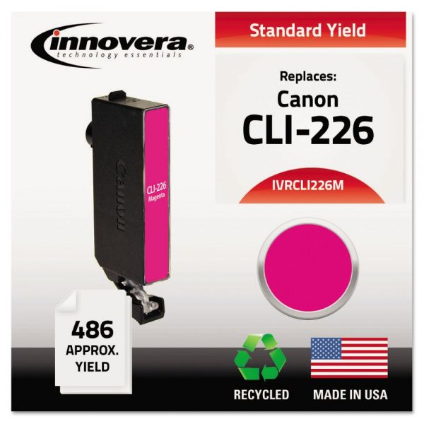 Innovera Remanufactured 4548B001 (CLI-226) Ink, Magenta