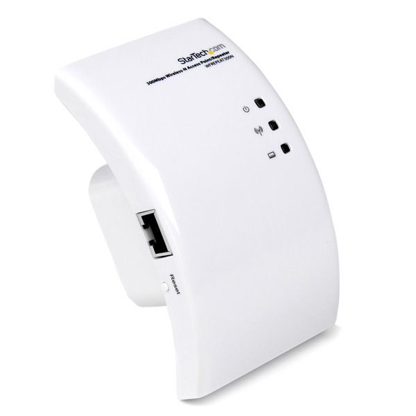 StarTech.com Wi-Fi Wireless Range Extender - 300 Mbps 802.11 b/g/n Access Point / Repeater / Signal Booster