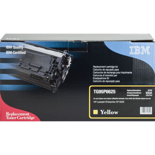 IBM Remanufactured HP 650A (CE272A) Toner Cartridge