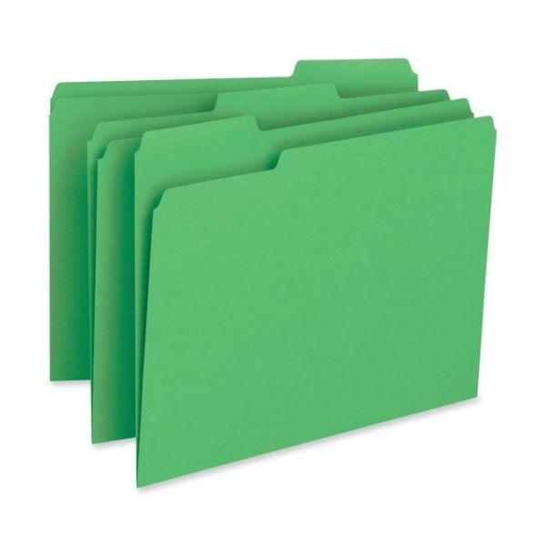 Business Source Green File Folder