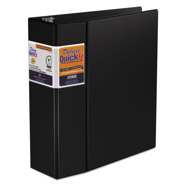 "Stride QuickFit 4"" 3-Ring Binder"