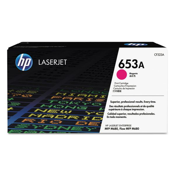 HP 653A Magenta Toner Cartridge (CF323A)