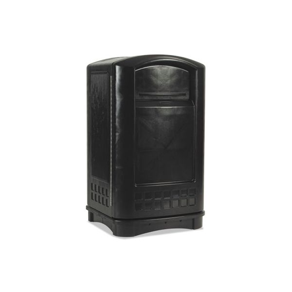 Rubbermaid Commercial Plaza Indoor/Outdoor 50 Gallon Trash Can