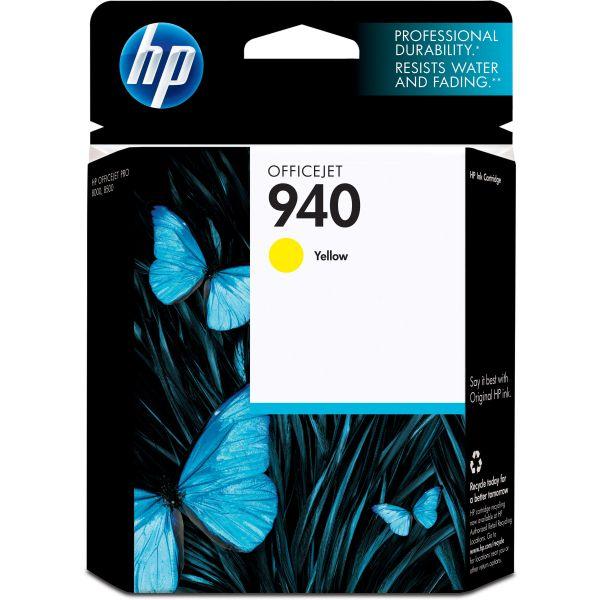 HP 940 Yellow Ink Cartridge (C4905AN)