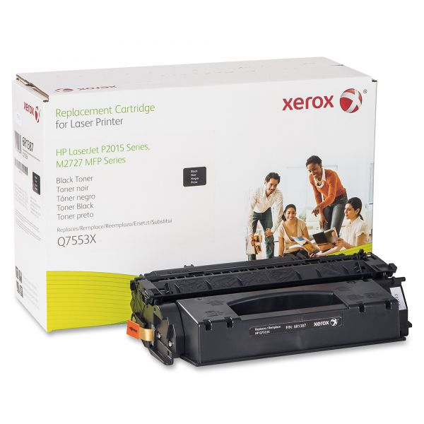 Xerox Remanufactured HP Q7553X Black Toner Cartridge