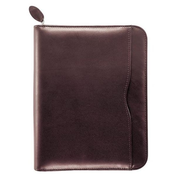 Day-Timer Verona Leather Zip Closure Organizer Set