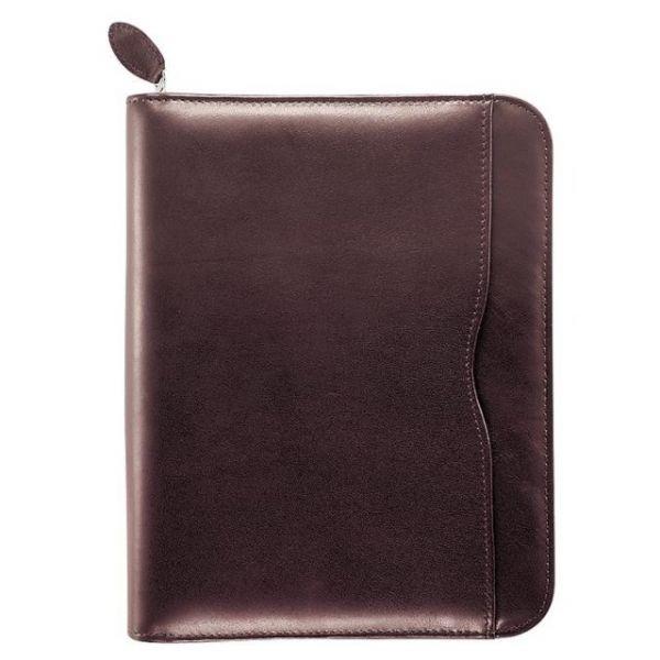 Day-Timer Verona Leather Zip Closure Organizer Set