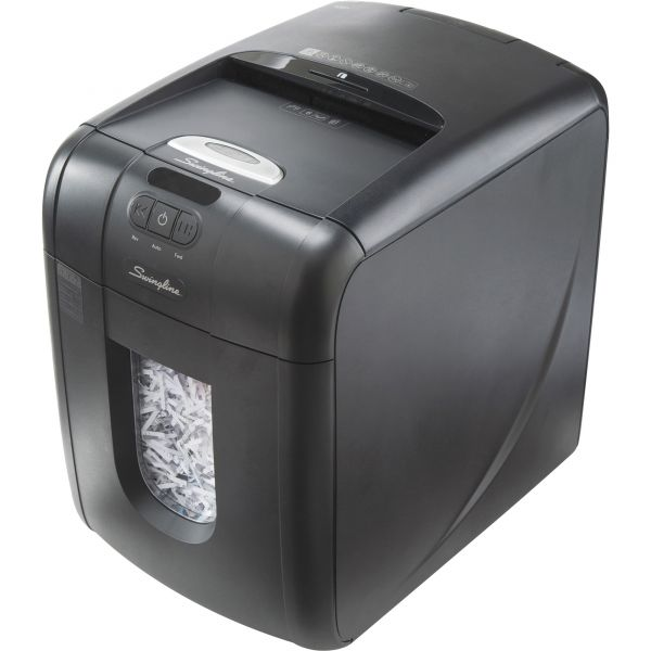 Swingline Stack-and-Shred 130X Auto Feed Super Cross-Cut Shredder, 130 Sheet Capacity