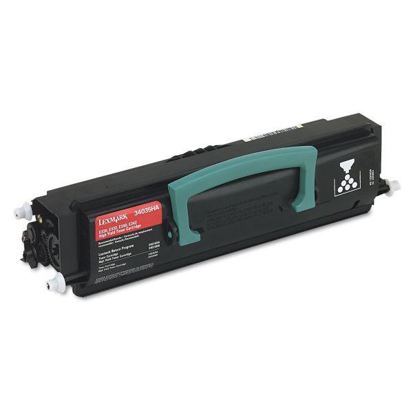 Lexmark 34035HA Black High Yield Toner Cartridge