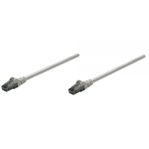 Intellinet Patch Cable, Cat6, UTP, 1.5', Gray