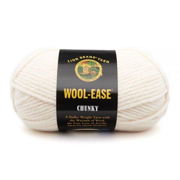 Lion Brand Wool-Ease Chunky Yarn - Fisherman