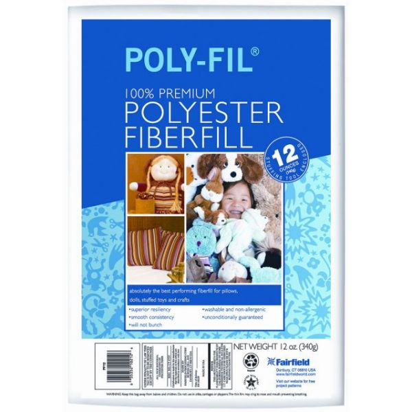 Poly-Fil Premium Polyester Fiberfill