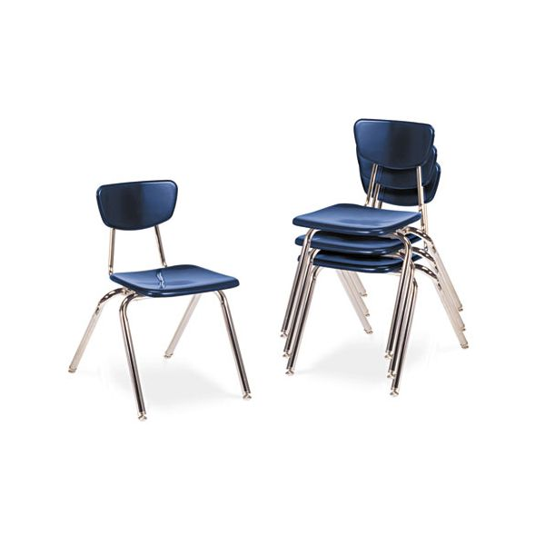 3000 Series Classroom Plastic Stacking Chairs