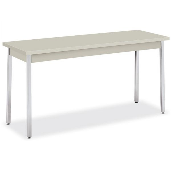 HON Metal Utility Table  20D x 60W