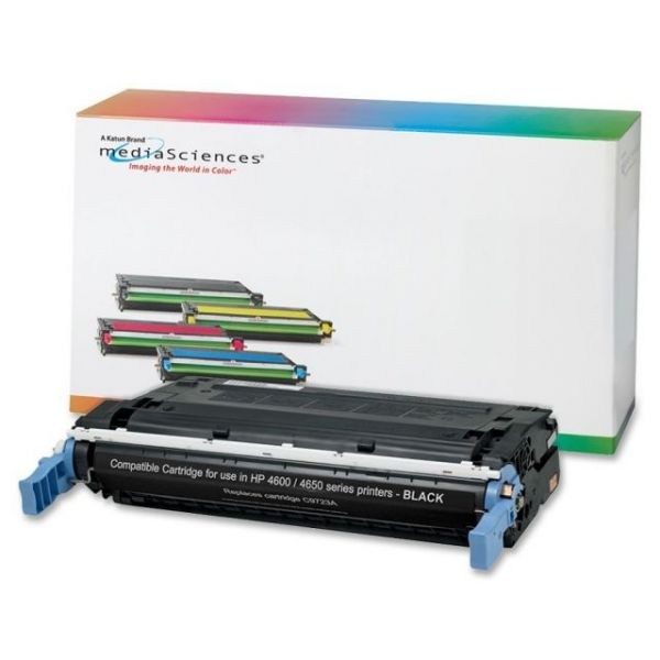 Media Sciences Remanufactured HP 641A Black Toner Cartridge