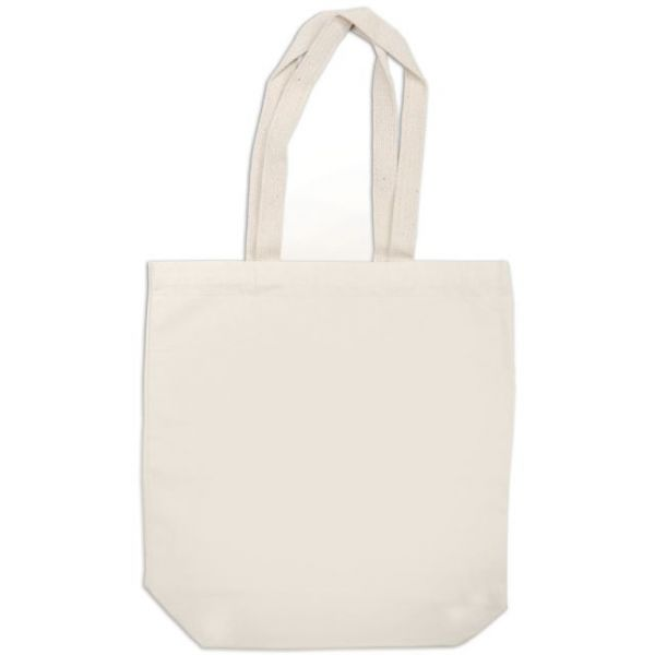 "Canvas Medium Tote Bag 15""X10""X4"""