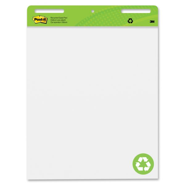 Post-it Recycled Self-Stick Easel Pads