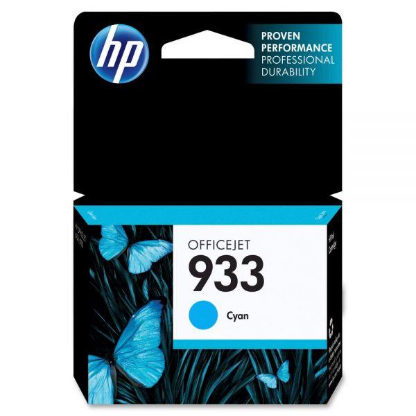 HP 933 Cyan Ink Cartridge (CN058AN)