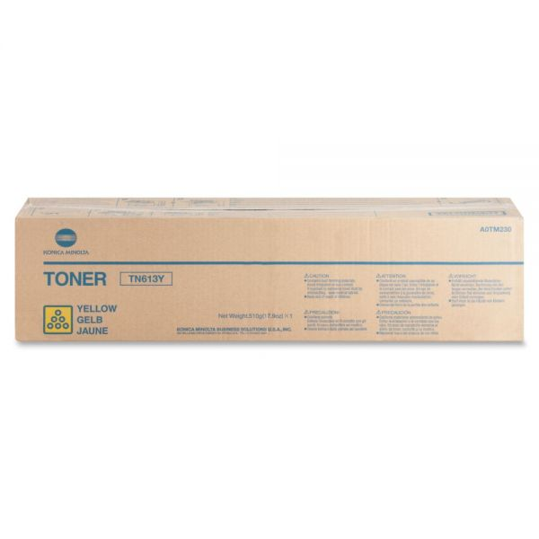 Konica Minolta TN-613Y Yellow Toner Cartridge