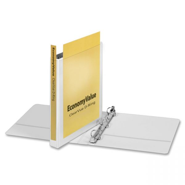 """Cardinal EconomyValue ClearVue 1"""" 3-Ring View Binder"""