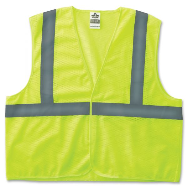GloWear Class 2 Lime Super Econo Vest