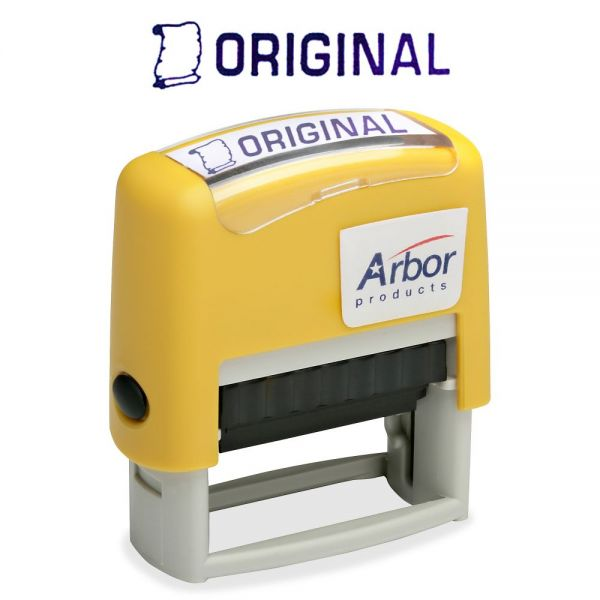 "SKILCRAFT Pre-inked ""Original"" Message Stamp"