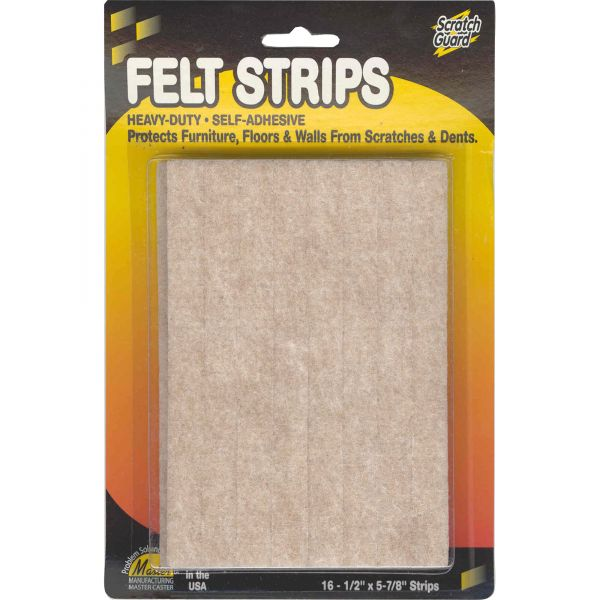 MASTER Scratch Guard Heavy Duty Felt Pad