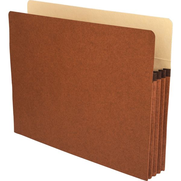 Business Source Redrope Expanding File Pockets