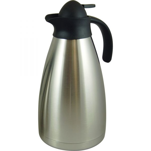 Genuine Joe Contemp Design Vacuum Insulated Carafe