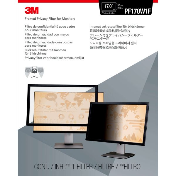 3M Privacy Filter PF317W Widescreen (16:10)