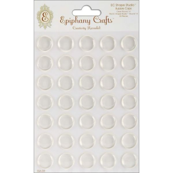 Epiphany Crafts Clear Bubble Caps